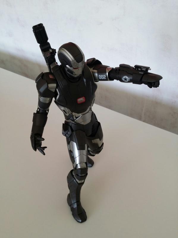 """red360 collec"""": War Machine MKII Diecast Hot Toys 656266201407161555281"""