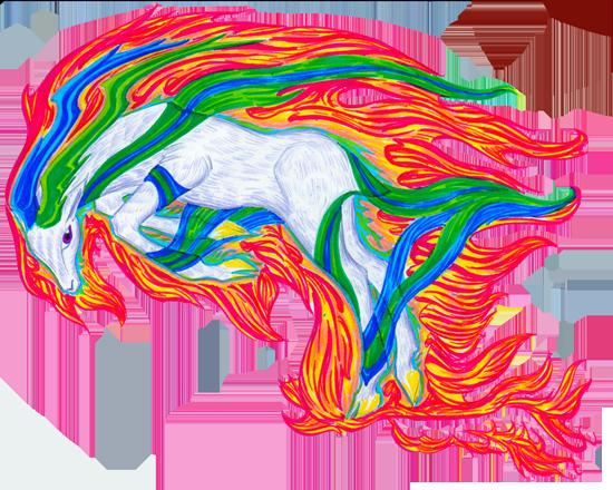Dragons, chimères et créatures arc-en-ciel 657572Cerflamme