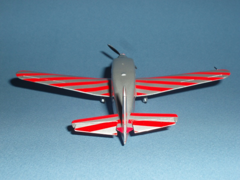 CAUDRON C-635 Simoun  (version Raid Paris-Tokyo). 1937  Heller 1/72. 658030caudronraid019