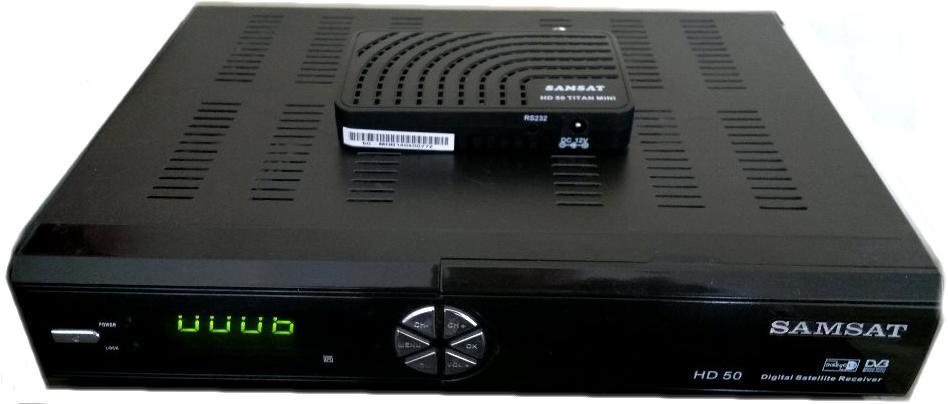 أصغر جهاز HD 658628SamsatHD50TitanMiniComp