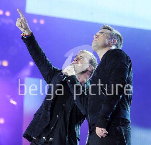 Robbie et Gary au concert Heroes 12-09/2010 65881922294020