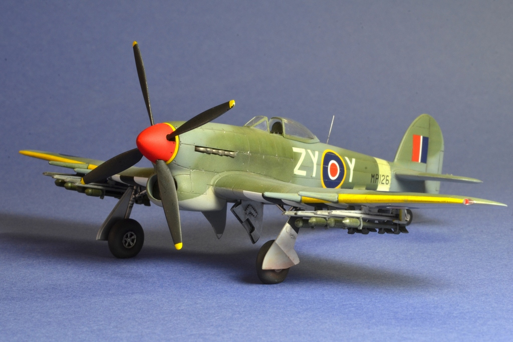 Hawker Typhoon Airfix 1/72 658947Typhoon5