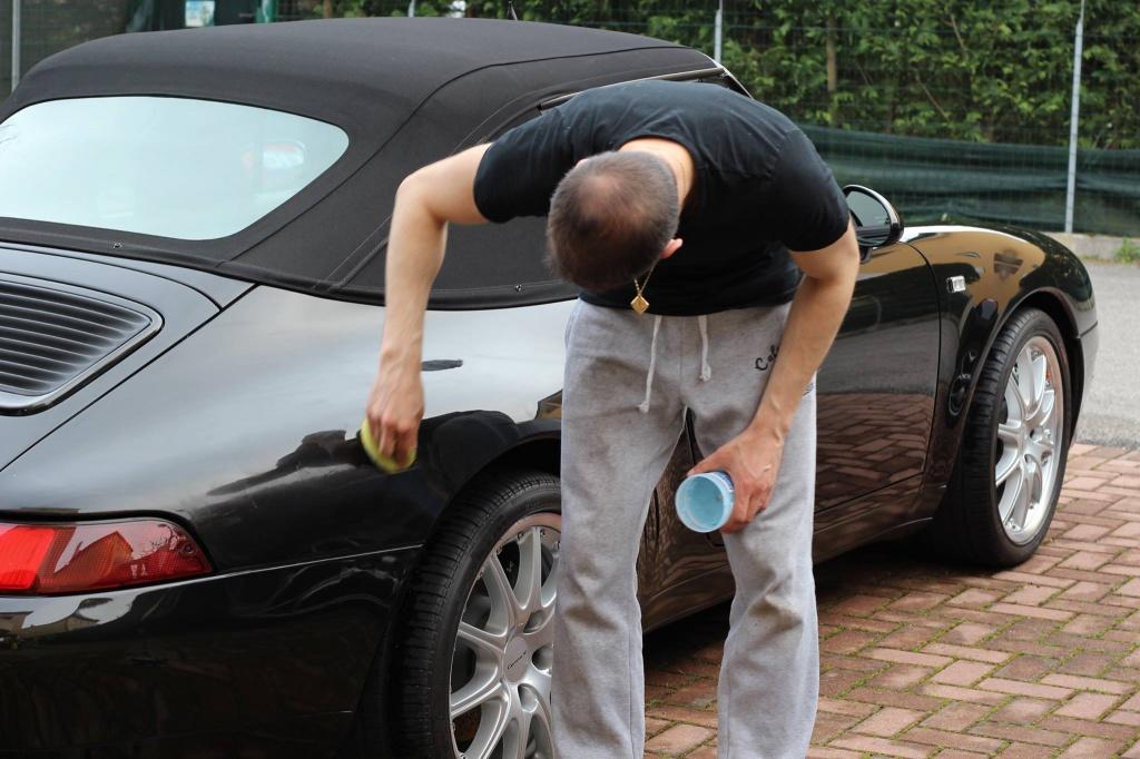 PORSCHE 993 Cabrio - Preparazione interna/esterna 6589900942