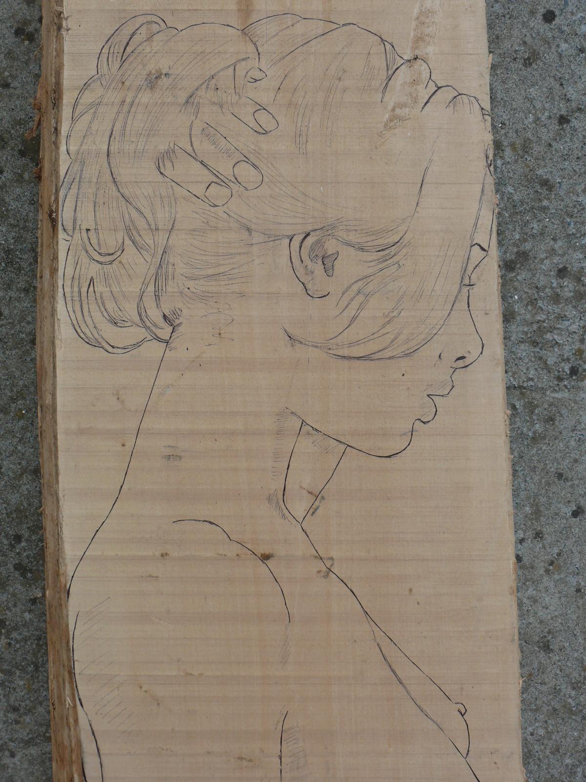 JJ - bas relief d'un nu (2013) 660004007