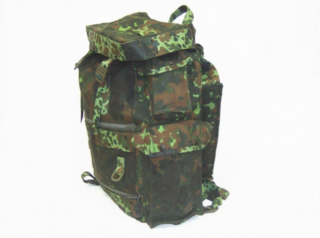 Flecktarn camo photo's 660293Belgianflecktarncamobackpack3