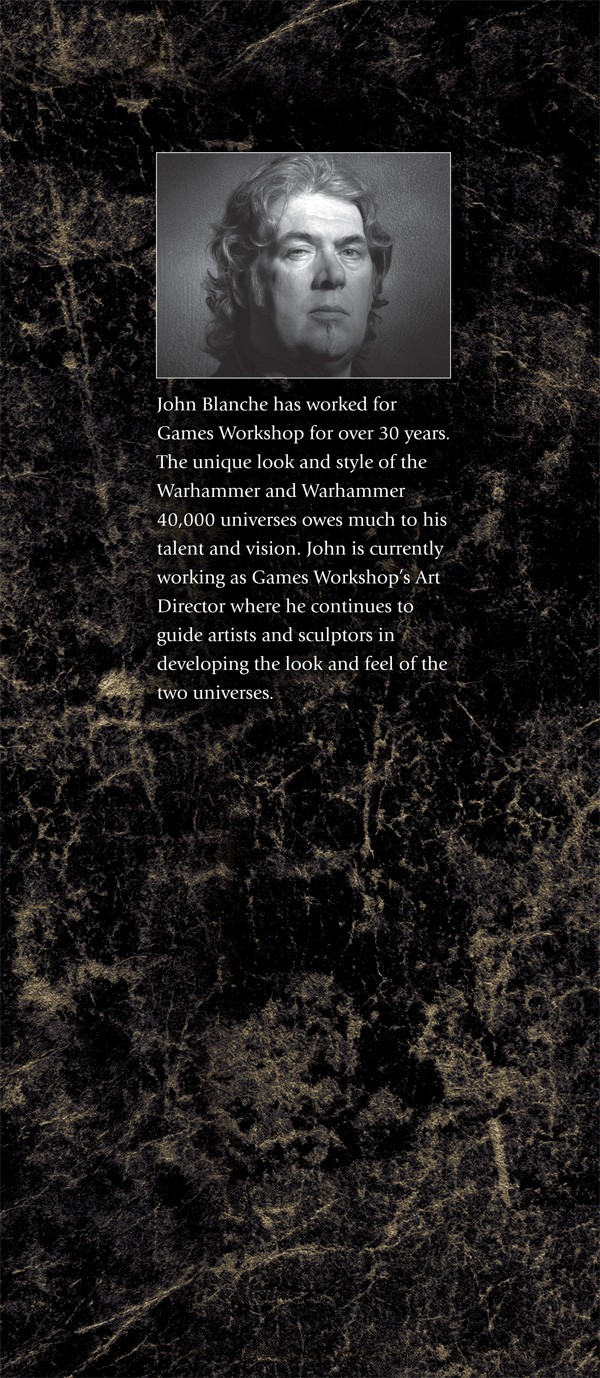 La Volonté de l'Empereur de John Blanche (Art Book) - Page 2 660551emperorswillrearflap