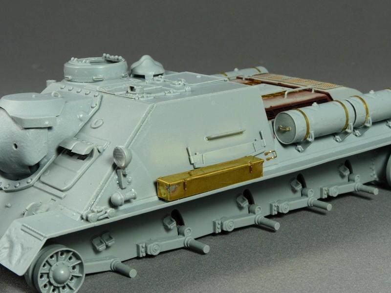 SU-100 - DRAGON 1/35 - Page 2 661105P1020826