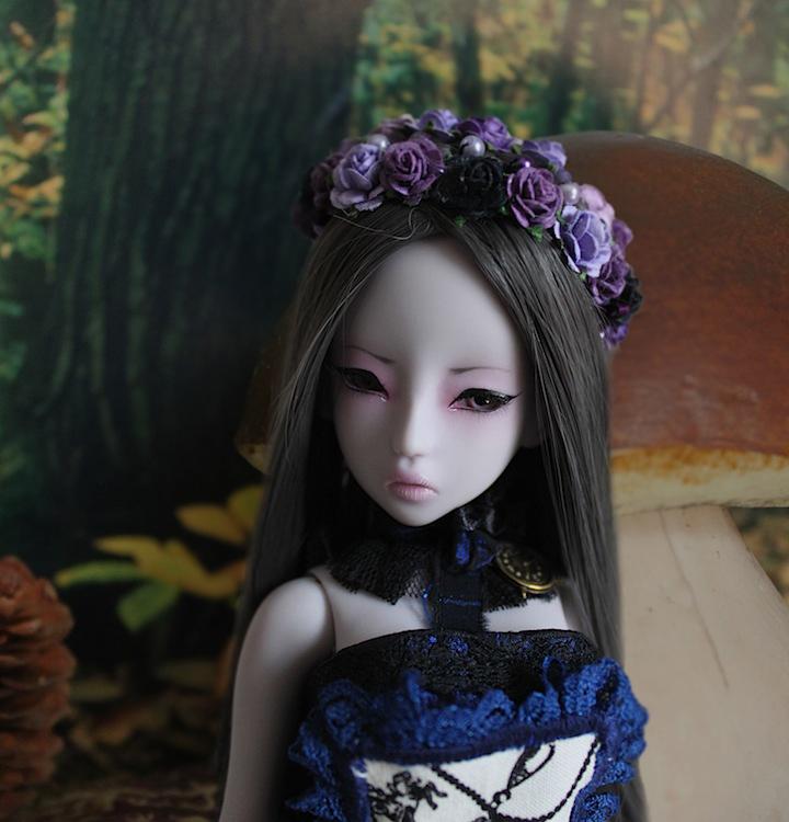 Nymeria (Sixtine Dark Tales Dolls) nouveau make-up p8 661118Alyssiadevantgroschampignon