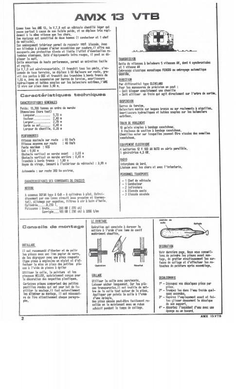 AMX 13 VTB - (Réf. L787) 1/35 661864VTB002