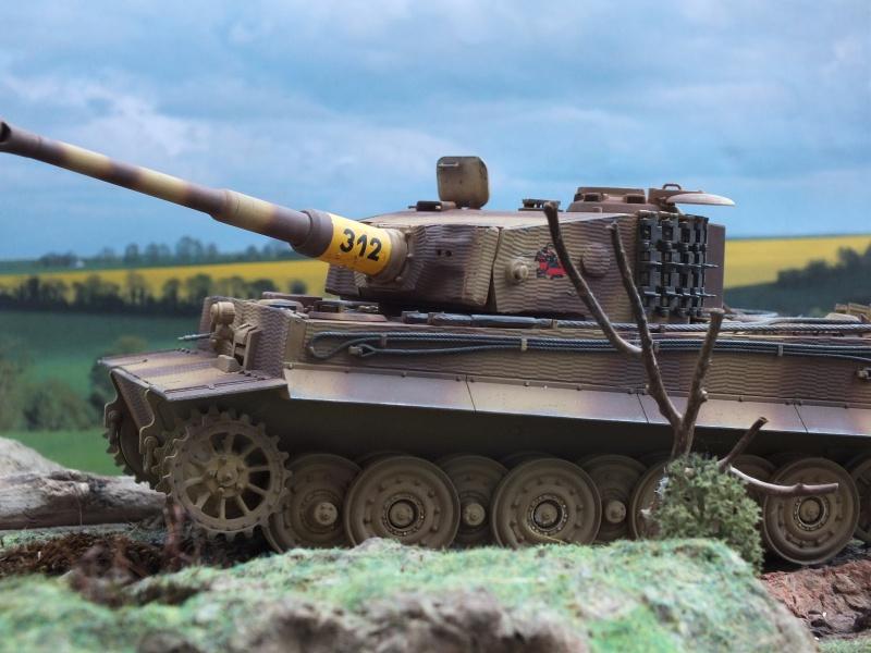 Tiger I Late version ,tamiya 1/35 (début de patine) - Page 2 662468DSCF6415