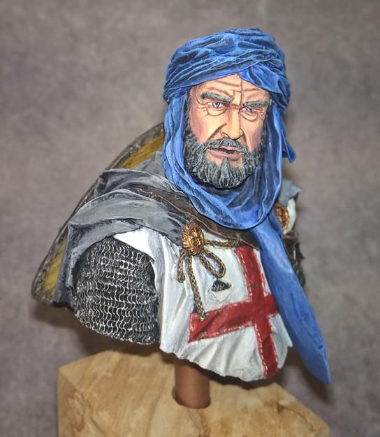 Templier à Jérusalem - Premier buste 662578Templier3