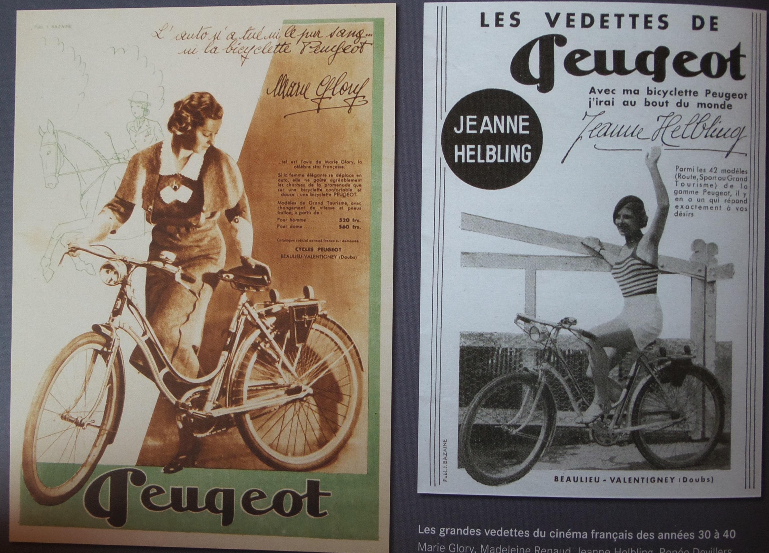 Peugeot femme .....année 40 ... enfin je pense. 66295920150811143636