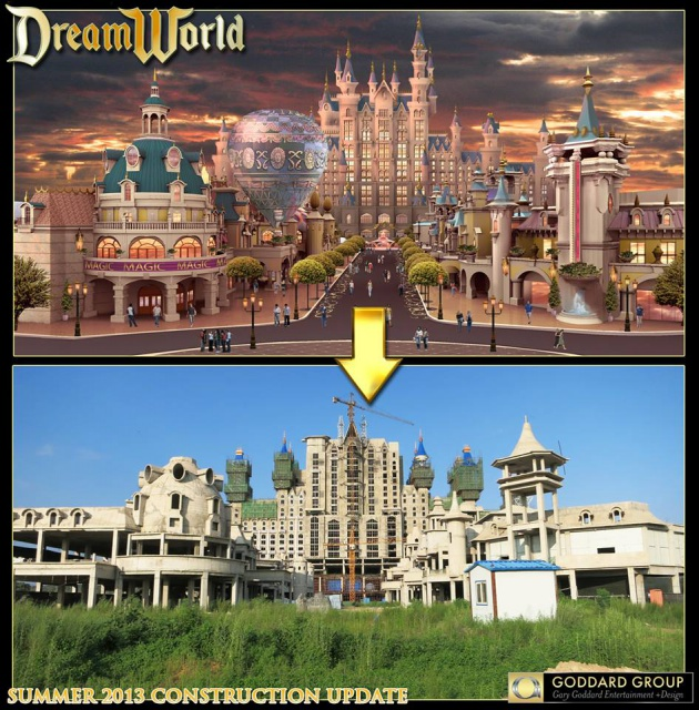 (Chine) Fushun DreamWorld Theme park, Hotel & Resort (201?) 663149fdw6