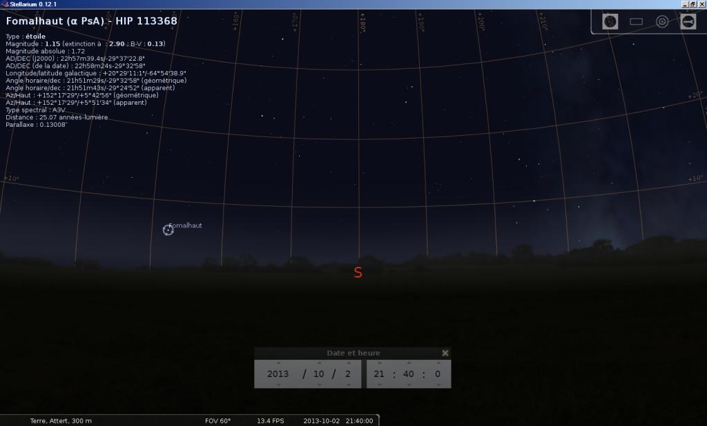 2013: le 02/10 à 21h30 - Lumière étrange dans le ciel  - ATTERT BELGIQUE -  663205OlivierH2