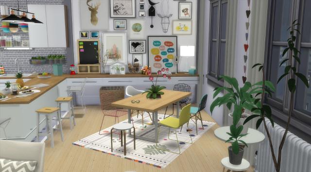 Appartement scandinave (let's build et téléchargement) 6662649en640