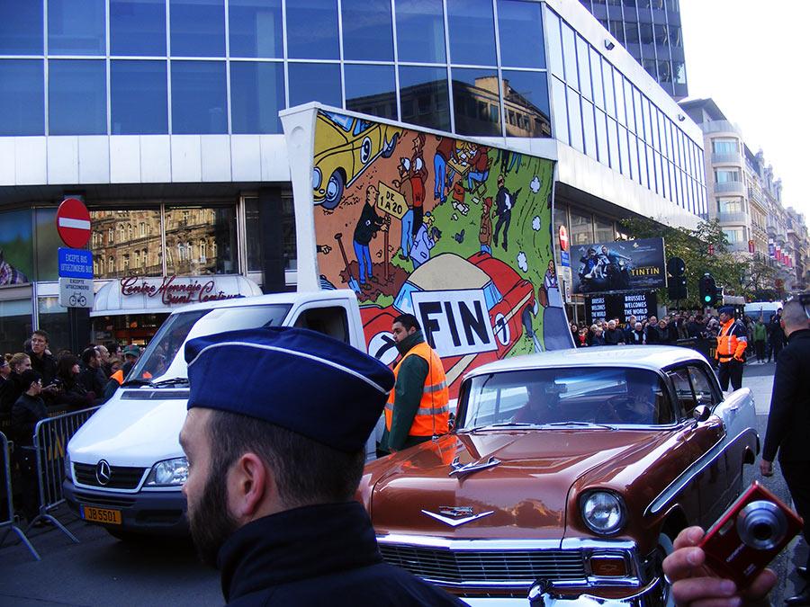 """Bruxelles côté BD  """"Tintin en automobile"""" 666748DSCF6195"""