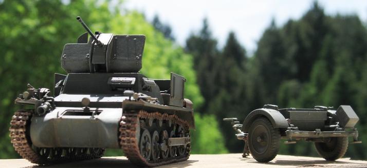 Flakpanzer I Dragon 1/35 667103modles116007