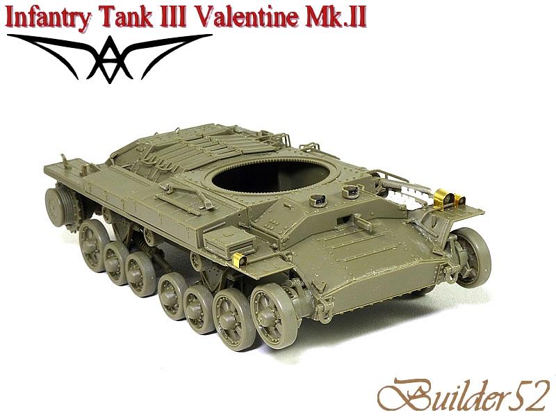 Infantry Tank III Valentine Mk.II - AFV CLUB 1/35 667289P1050396