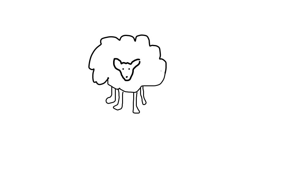 Dessine moi un mouton. Bêêh. 667723sketch63342338