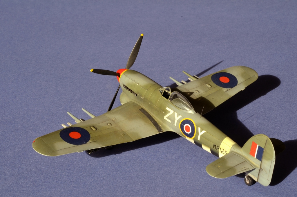 Hawker Typhoon Airfix 1/72 667724Typhoon8