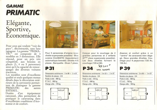 Les Esterel, début 80' 667754Brochure9001