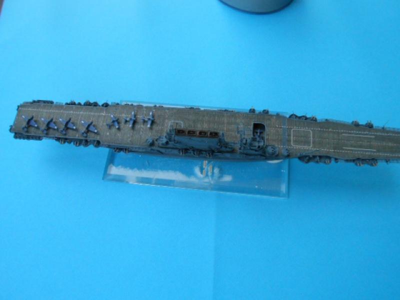 Saratoga CV3  1/700 pont en bois/ PE 668288Sarafini001