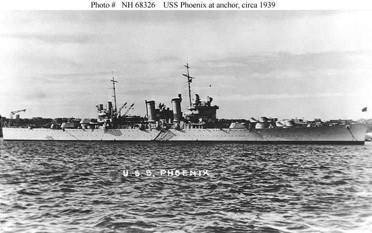 USN CROISEUR LOURD USS WICHITA 669400USSPhoenix1939
