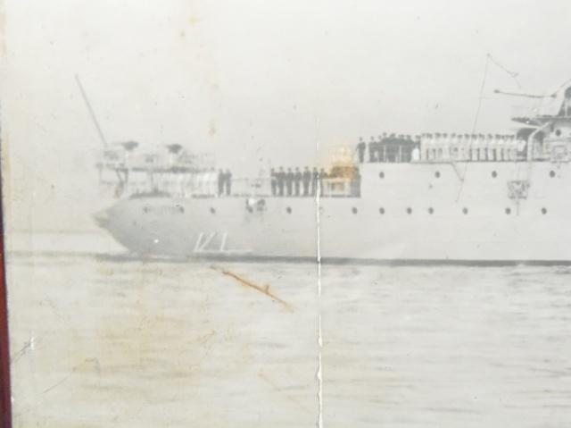 photo d'un bateau et carte d'Orange 670178P3010094
