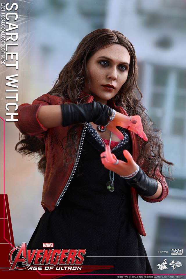 HOT TOYS - Avengers: Age of Ultron - Scarlet Witch 672661101