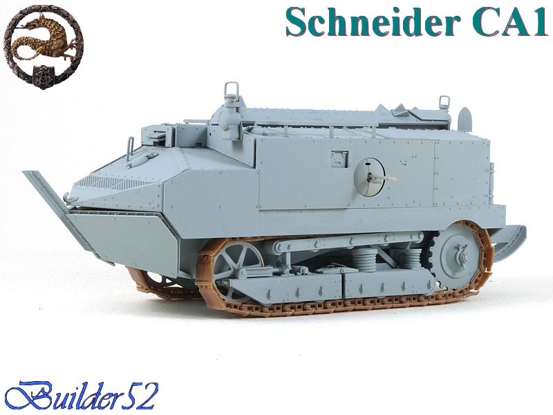 CHAR SCHNEIDER CA 1 - HOBBY BOSS 1/35 673578P1040935