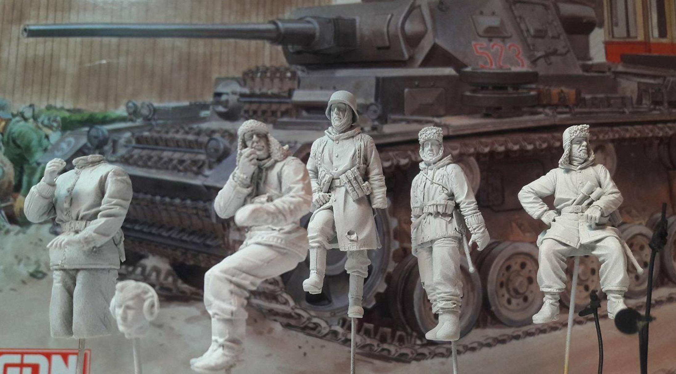 Pz.Kpfw.III Ausf.J - Dragon 673836FigsBasicLayer