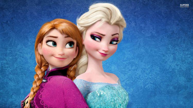 montage visage petite fille sur la reine des neiges ! 674276139522834025955