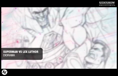 [Sideshow] Superman VS Lex Luthor Diorama 674737superdio