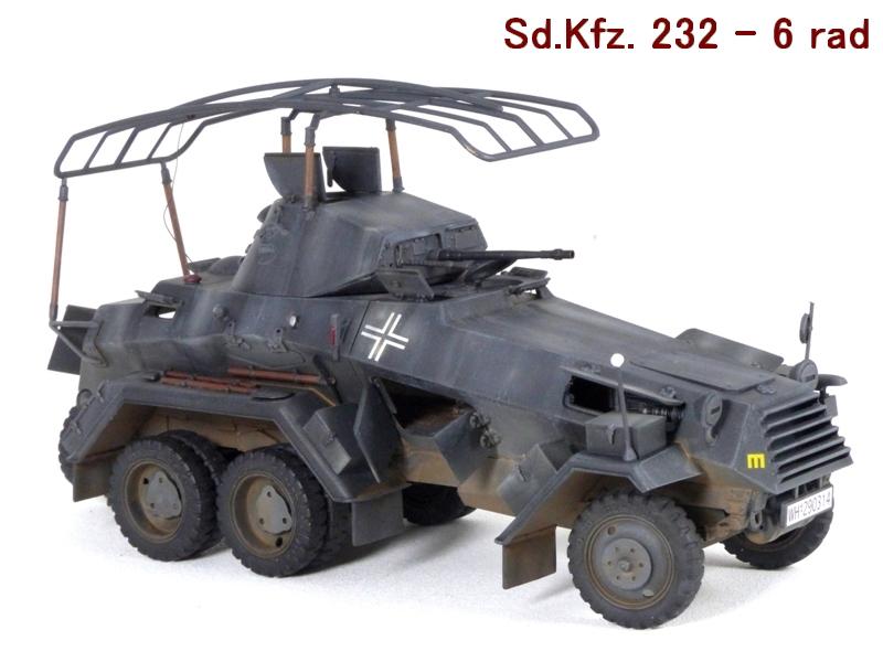 Sd.Kfz. 232 6 Rad - France 1940 - Italeri 1/35 675479P1040084