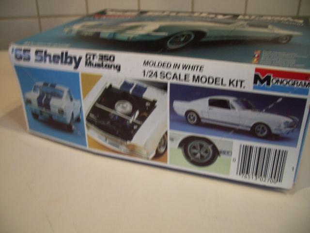 mustang shelby 350 GT 1965  kit monogram 1/24 . 675848IMGP3002