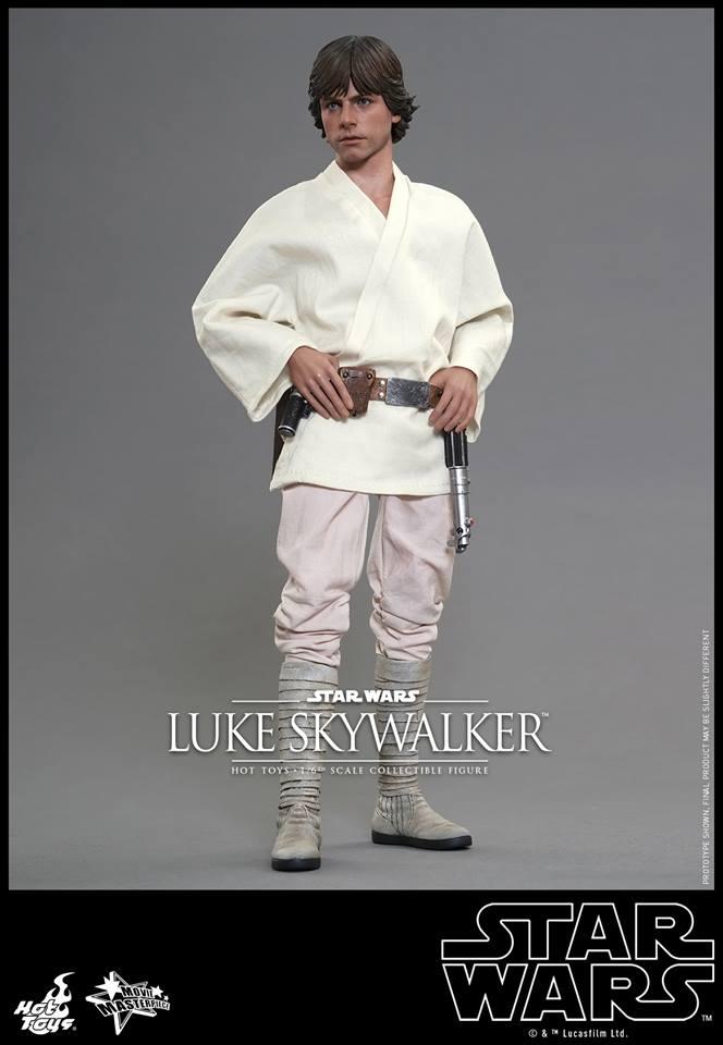 HOT TOYS - Star Wars: Episode IV A New Hope - Luke Skywalker 676549106