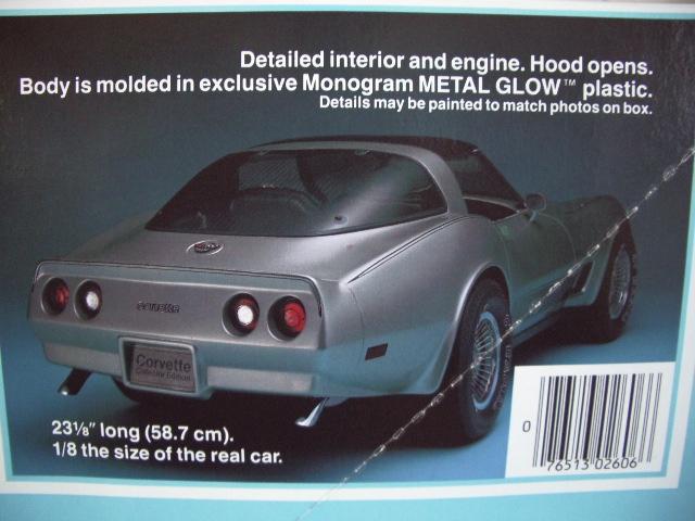 chevrolet corvette 1982 edition collector monogram au 1/8 - Page 2 678010photoscorvettemaquette003