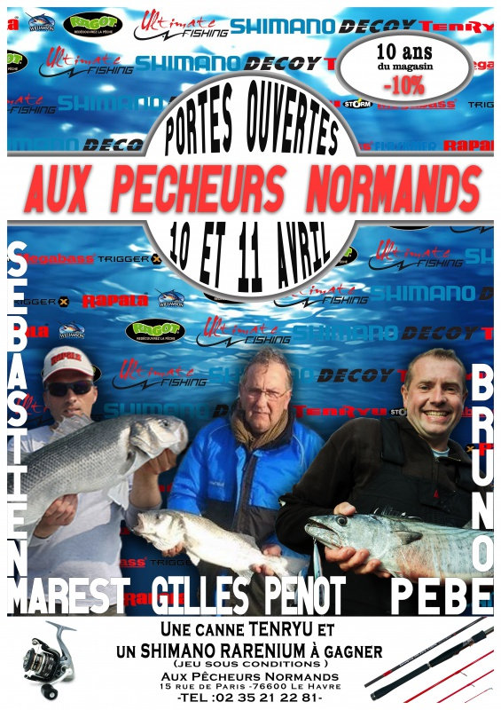 Animations pêche , portes ouvertes , rassemblements 6788971011avril