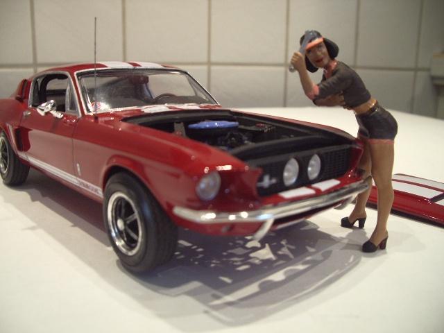 mustang shelby 350 GT 1967  au 1/25 de chez AMT/ERTL  679400IMGP1054