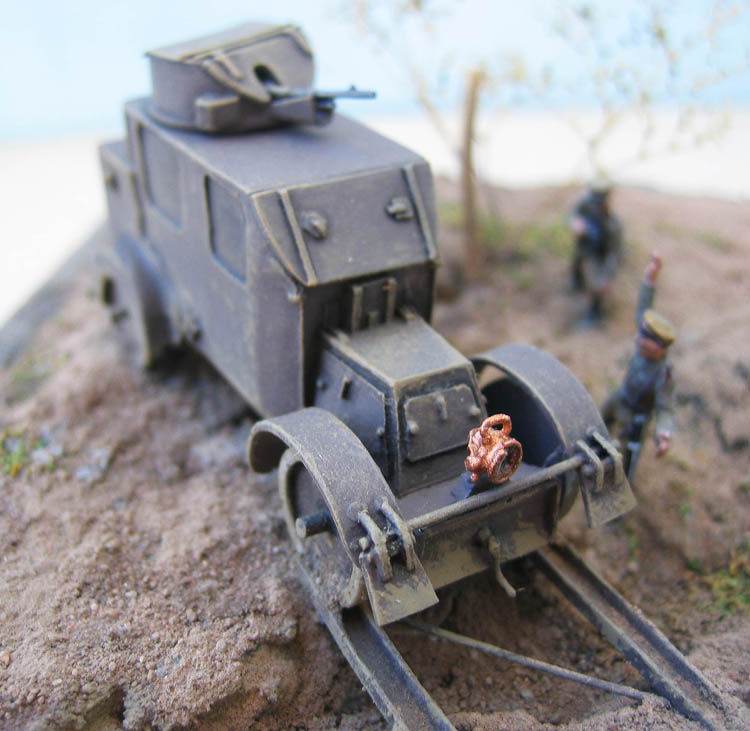 [Retrokit] - Automitrailleuse Charron chez les russes en 1914. 679682Charron31