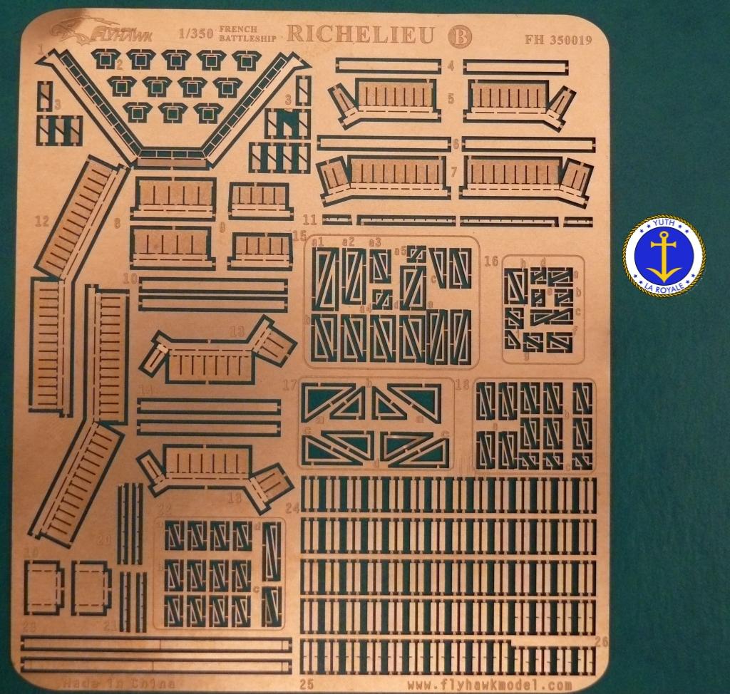 Set Richelieu 1/350 Super Detail FLYHAWK 679772Richelieuflyhawk019