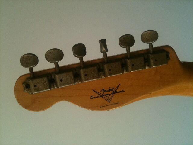 "Fender Custom Shop Telecaster 52 HB Relic ""Time Series"" 680400Telettedtail"