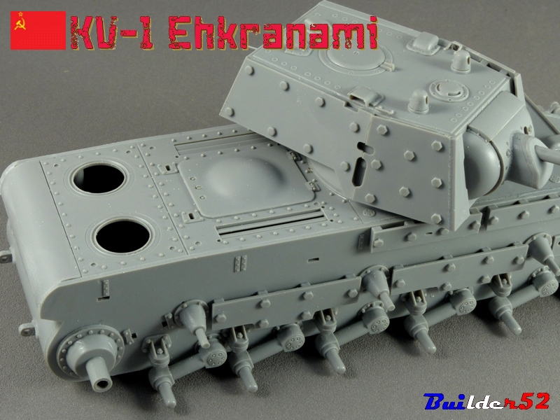 KV-1 Ehkranami  -  TRUMPETER 1/35 681273P1030089