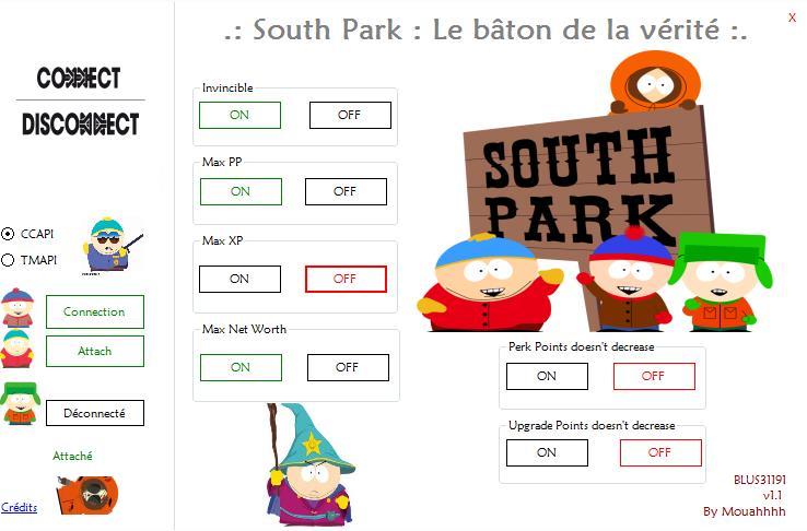 (Realese)Tool RTE .:South Park - Le bâton de la vérité:.  BLUS31191 v1.01 684626Screenshot1