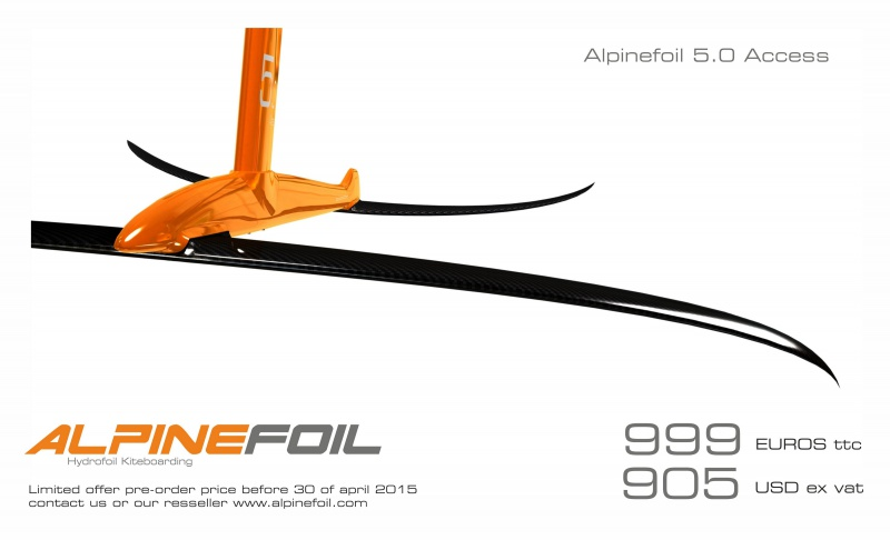 new alpin foil 2015 685707KitefoilAlpinefoilAccess5price999euros