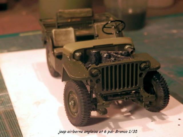 6 pdr ,jeep ,équipage airborne Bronco 1/35 (sur la route de Ouistreham) 686341P5030429