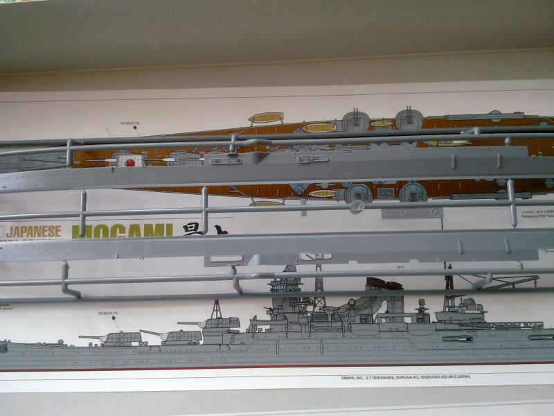 croiseur lourd Mogami au 1/350 par Pascal 94 - Tamiya  68738820092010779