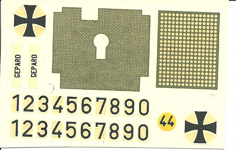 Char GEPARD  - (Réf. 820) 1/35 688184HellerGpard820013