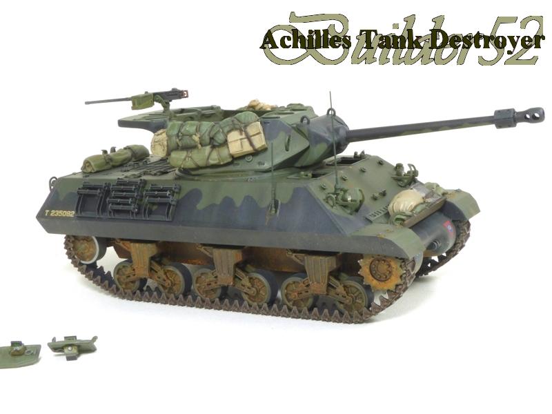 Achilles Tank Destroyer - Academy-Italeri + RB Model + set Blast 1/35 690195P1040526