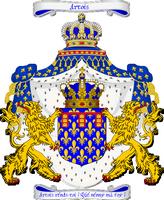 L'arrivée de l'Ambassadeur Royale d'Angleterre 690937ArmoirieduComtedArtoisbannire